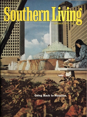 Beautiful Vintage Southern Living Cover From October 1972
