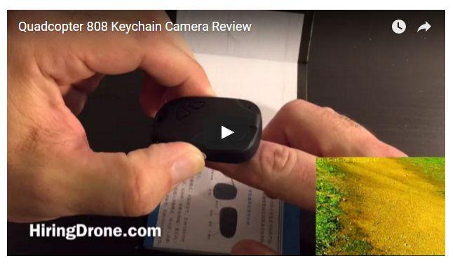Quadcopter 808 Keychain Camera Review