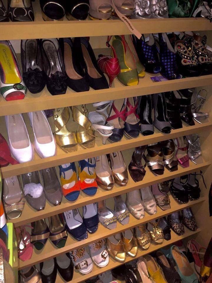 My shoe closet represents me %100.
