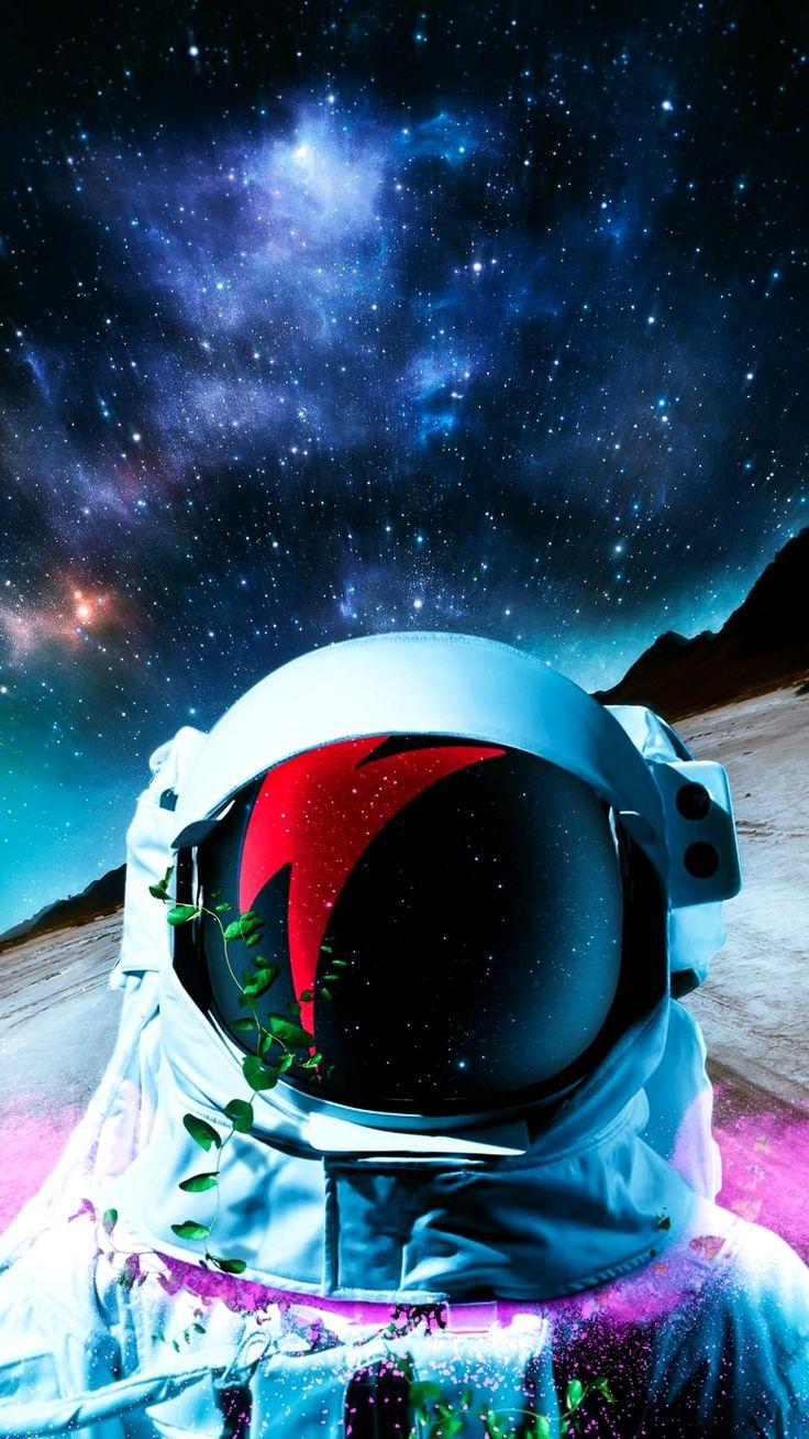 Iphone Xs Wallpaper 4K Space Trick em 2020 Astronauta