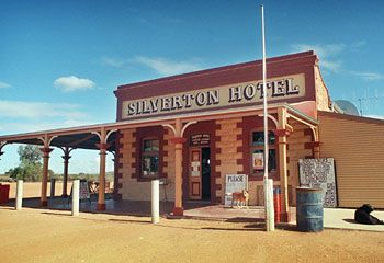 No ordinary pub ... the heart and soul of the Outback heritage town Silverton is its remarkable hotel.