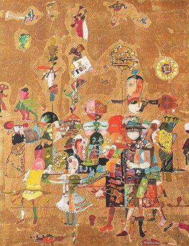 Georgeta Năpăruș - Commedia dell'arte (1993)