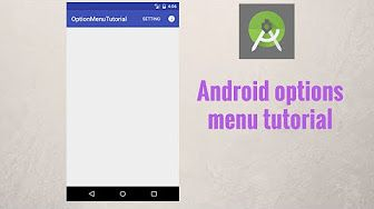 In this tutorial you will learn about using Android options menu, how you can add items to Android options menu  (using android oncreateoptionsmenu), how to customize options menu by adding icons and how to make android menu item clickable to make certain action (using android onoptionsitemselected).