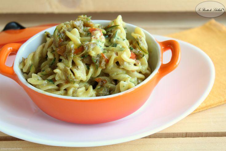 Pasta+cremosa+con+verdure+e+spezie