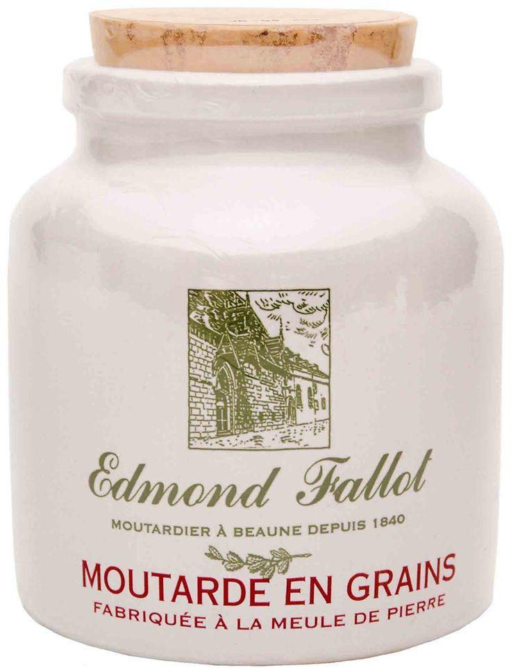 Edmond Fallot Old Fashion Grain Mustard Stone Jar