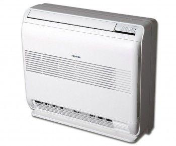 Warmtepomp RAS-UFV Deze airconditioner, het consolemodel, wordt tegen de muur geplaatst en past dankzij zijn compacte afmetingen van 60 x 70 cm in vrijwel iedere ruimte. Kan eenvoudig op een lage zolderkamer geplaatst worden en laat zich gemakkelijk onder een raam monteren. De RAS-UFV beschikt over het TOSHIBA Bi-Flow systeem waardoor de gebruiker de uitblaasrichting zelf kan kiezen uit de twee beschikbare openingen aan de onderzijde en bovenzijde.