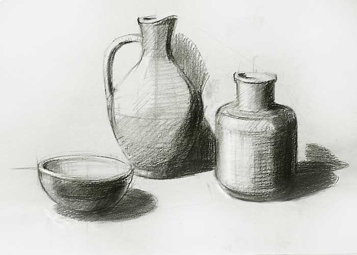 Drawing Still Life - How to Draw Still Life