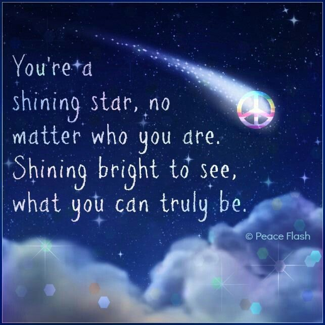 your my shining star quotes quotesgram