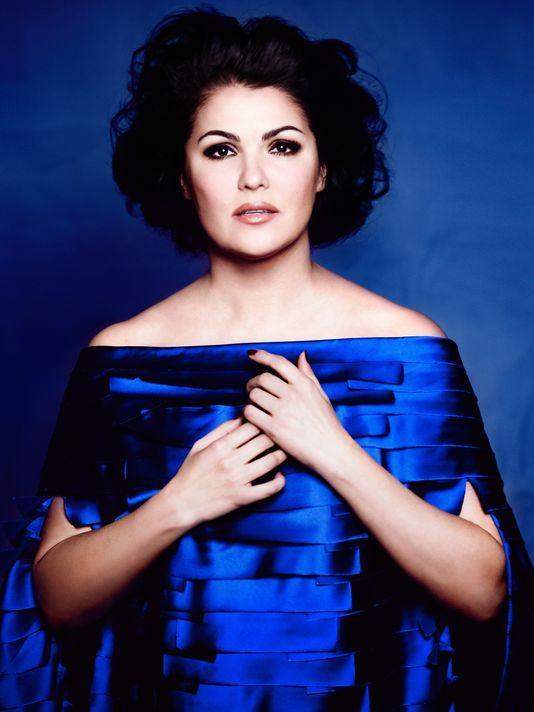 """anna netrebko   Anna Netrebko will release an album entitled """"Verdi"""" on August 20 ..."""