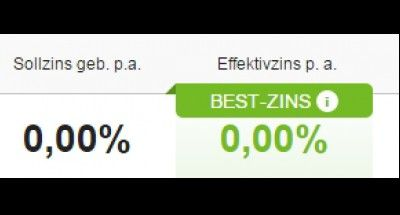 BEST-ZINS! INTERESSIERT?