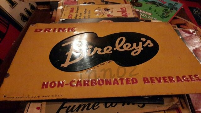 Bireley's antique 1950 usa.