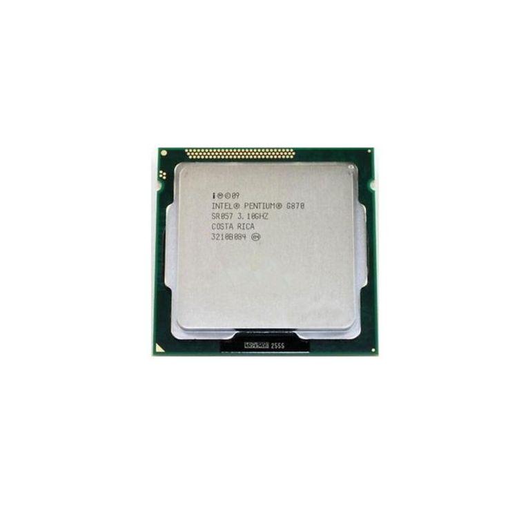 3.10GHz Intel Pentium G870 Dual-core (2 Core) 3MB Cache Socket H2 LGA-1155 5GT-s Dmi CM8062307260115