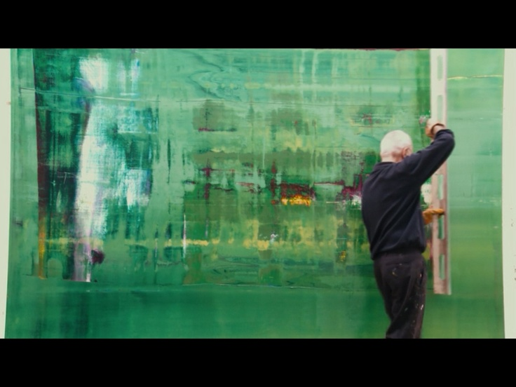 screenshot of Gerard Richter Painting #documentary