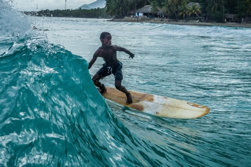 Surf Haiti in Jacmel. Photos c/o Michael Magers