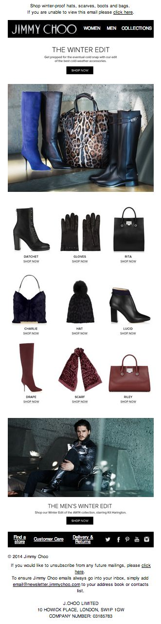 The Winter Edit – Chic Ways To Stay Warm