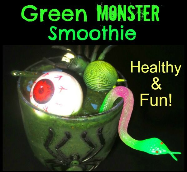 Green monster smoothie recipe | Just For Fun | Pinterest