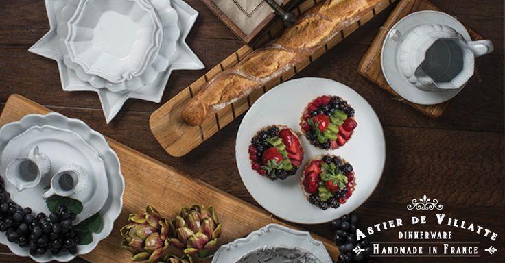 Buy beautiful#traditional#dinnerwareby #AstierDeVillattewhich is exclusively#handmadein France.  #TraditionalDinnerware