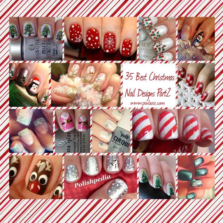 35 Best Christmas Nail Designs Part 2