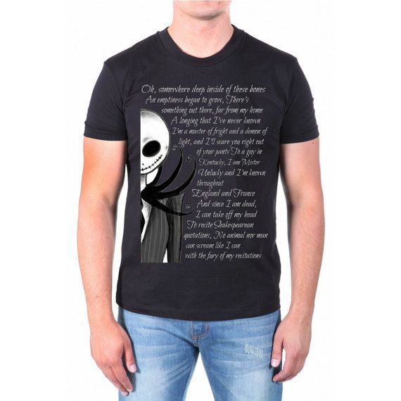 jack and sally quote disney nightmare from NewGalaxy on Etsy