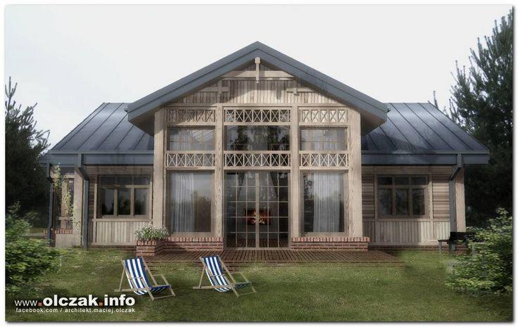 Architekt Maciej Olczak - dom swidermajer