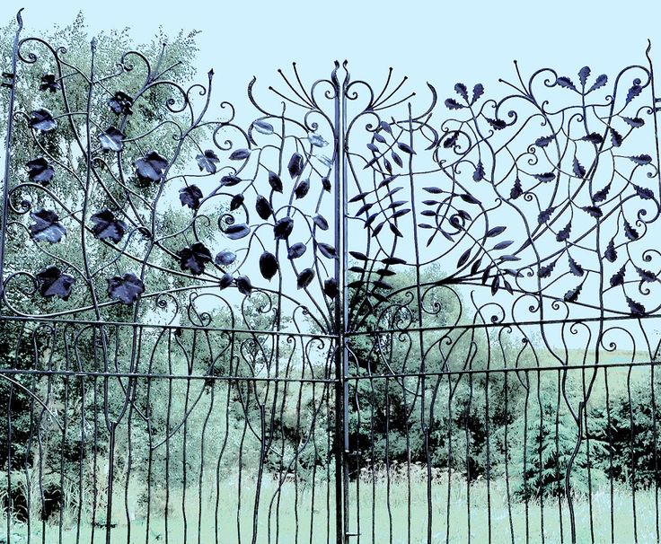 Awesome Sculpture And Garden Art Artistic Metal Furniture And Gates Estate  Gates Gallery With Wrought Iron Garden Art