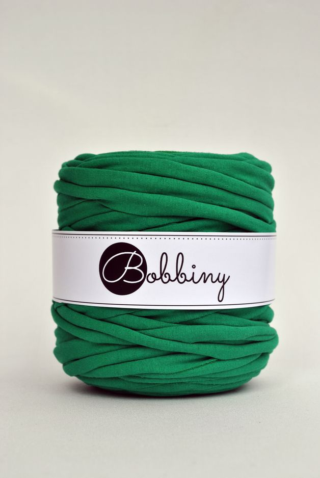 Bobbiny Jersey. Cotton with lycra. Recycled Yarn.