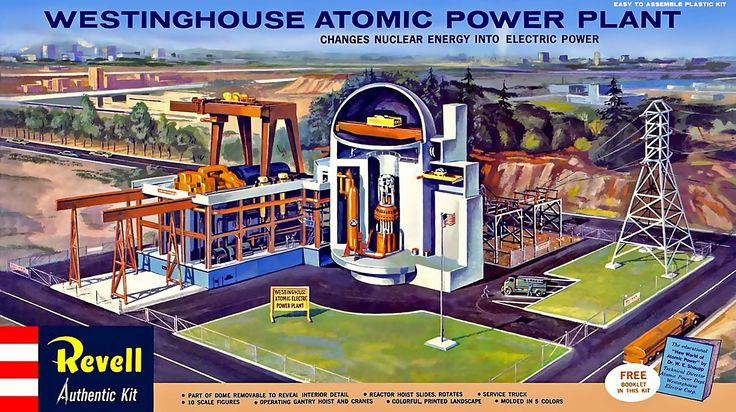 Revell  Westinghouse Atomic Power Plant