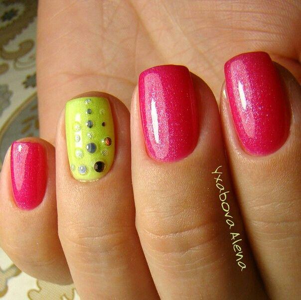 Nails. Fashion. Desighn. Manicure. Pink. Swarowski. Натуральные ногти. Гель-лак. Маникюр. Сваровскм.