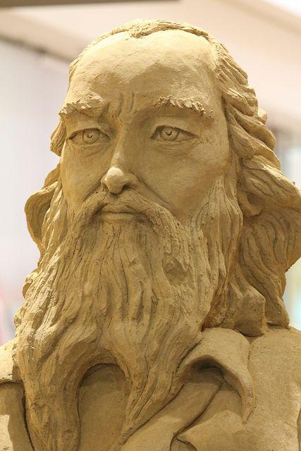 (a):Sand Sculptures:Zsolnay Factory founder / Zsolnay gyár alapítója | Flickr - Photo Sharing!