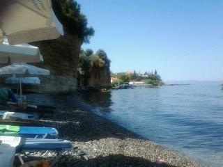 one beach of Kalamata,Greece
