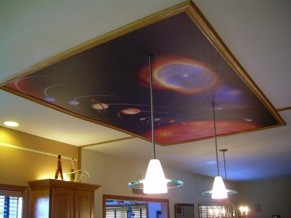 17 best images about ceiling murals on pinterest starry for Ceiling mural decal
