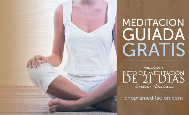 ¡Únete a Deepak y CALA para 21 días de meditaciones guiadas! Inscríbete ahora gratis en http://bit.ly/1onqXNG
