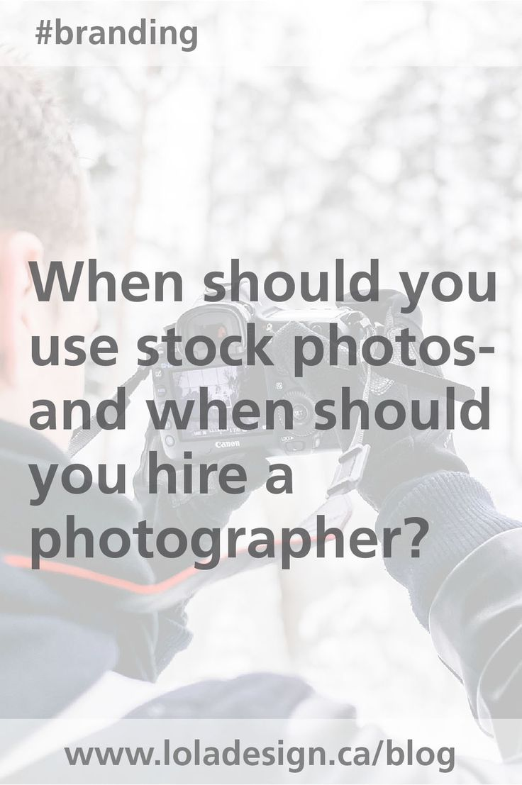 Should you use stock photos or bite the bullet and pay for a photoshoot? This article will give you some guidance. Blog post Nov. 3, 2013