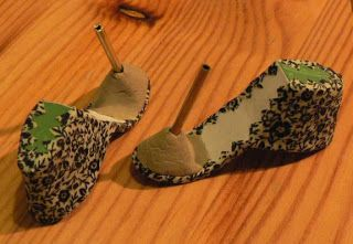 Fashion Doll Shoes: High heel platforms