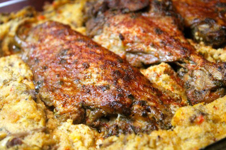 BEST EVER Baked Turkey Wings Recipe