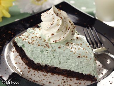Black Bottom Pie | mrfood.com
