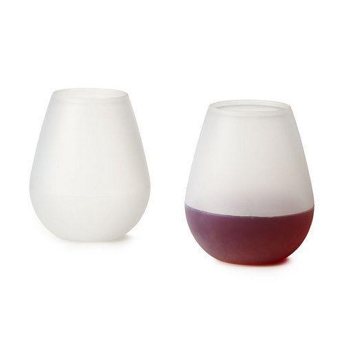 Silicone-wine-glasses
