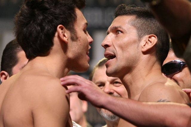 Boxing schedule weigh-ins update: Chavez vs. Martinez, undercard fighters make weight for Saturday
