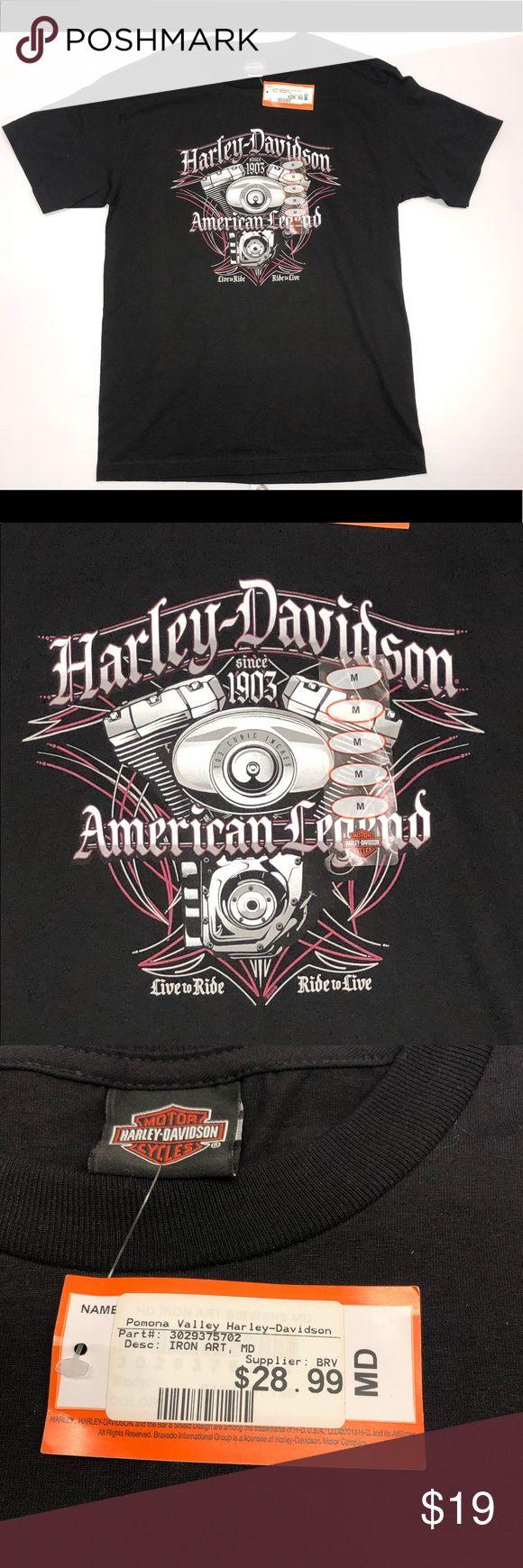 Harley-Davidson Motorcycles Herren Schwarzes T-Shirt Harley-Davidson Motorcycles Herren …   – My Posh Picks