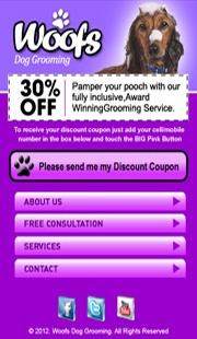 Dog Grooming Mobile Website  Need a Mobile Website?  Contact Melaka Creative Mobile Website.   Tel: + 60 6 2922 643  http://CreativeMobileWebsite.com