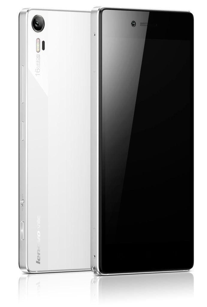 mobile phone | Lenovo Smartphone Vibe Shot Pearl | white | TS BOHEMIA