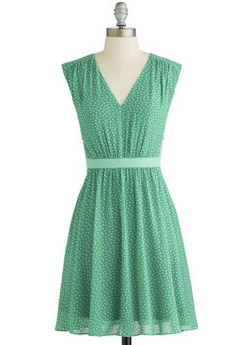 Herb Garden Party Dress, #ModCloth