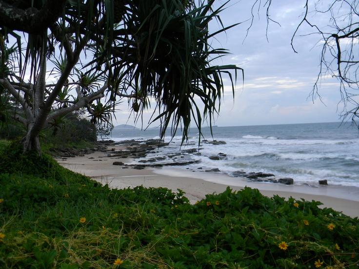 Camping at the Beach, Mooloolaba - Sunshine Coast, Australia