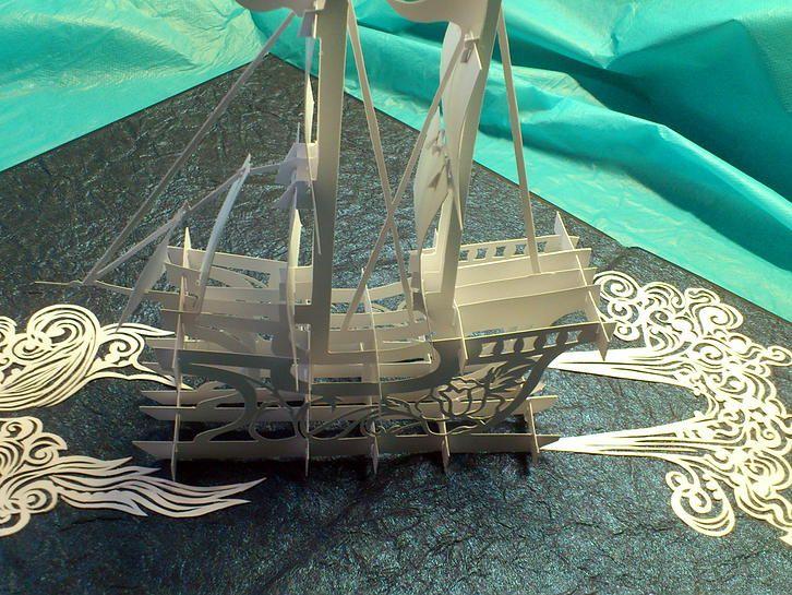 киригами корабль вытанки - Поиск в Google