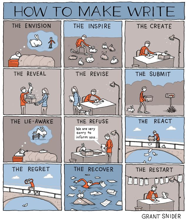 writing, INCIDENTAL COMICS
