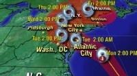 Hurricane Sandy Likely to Make Landfall Near Atlantic City - ABC News