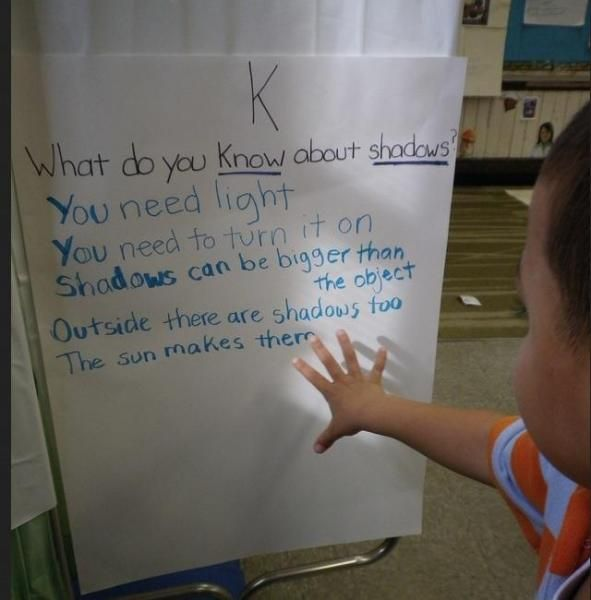 What is a Shadow? - Denise Nelson and her class of preschoolers in Worcester, MA tried to answer that question over the course of a three-week exploration—both indoors and out.