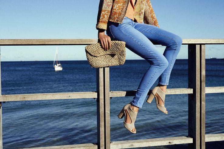 JAYDEN heel   available in black & beige
