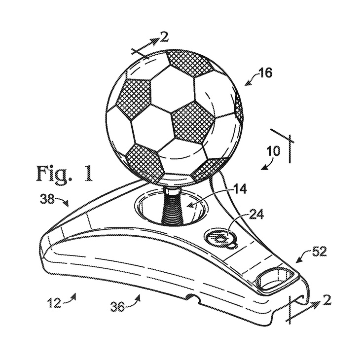 WO2012087368A1 EXERCISE DEVICE WITH RESILIENTLY DISPLACEABLE CONTACT TARGET