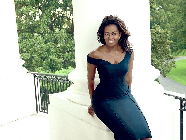 Ready to go: The First Lady said she believes eight years in the White House is enough tim...